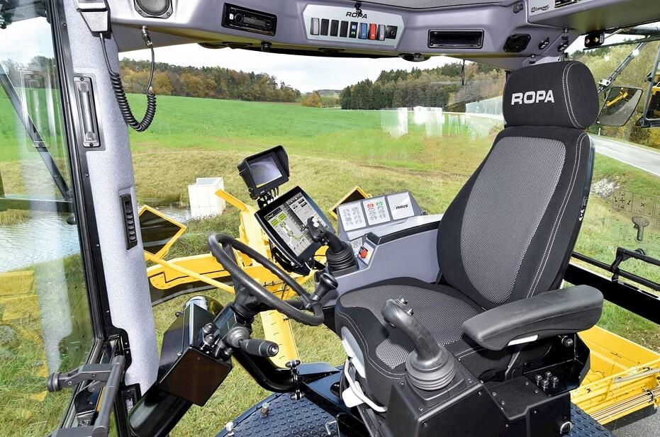 Rübenmaus 5 Cockpit